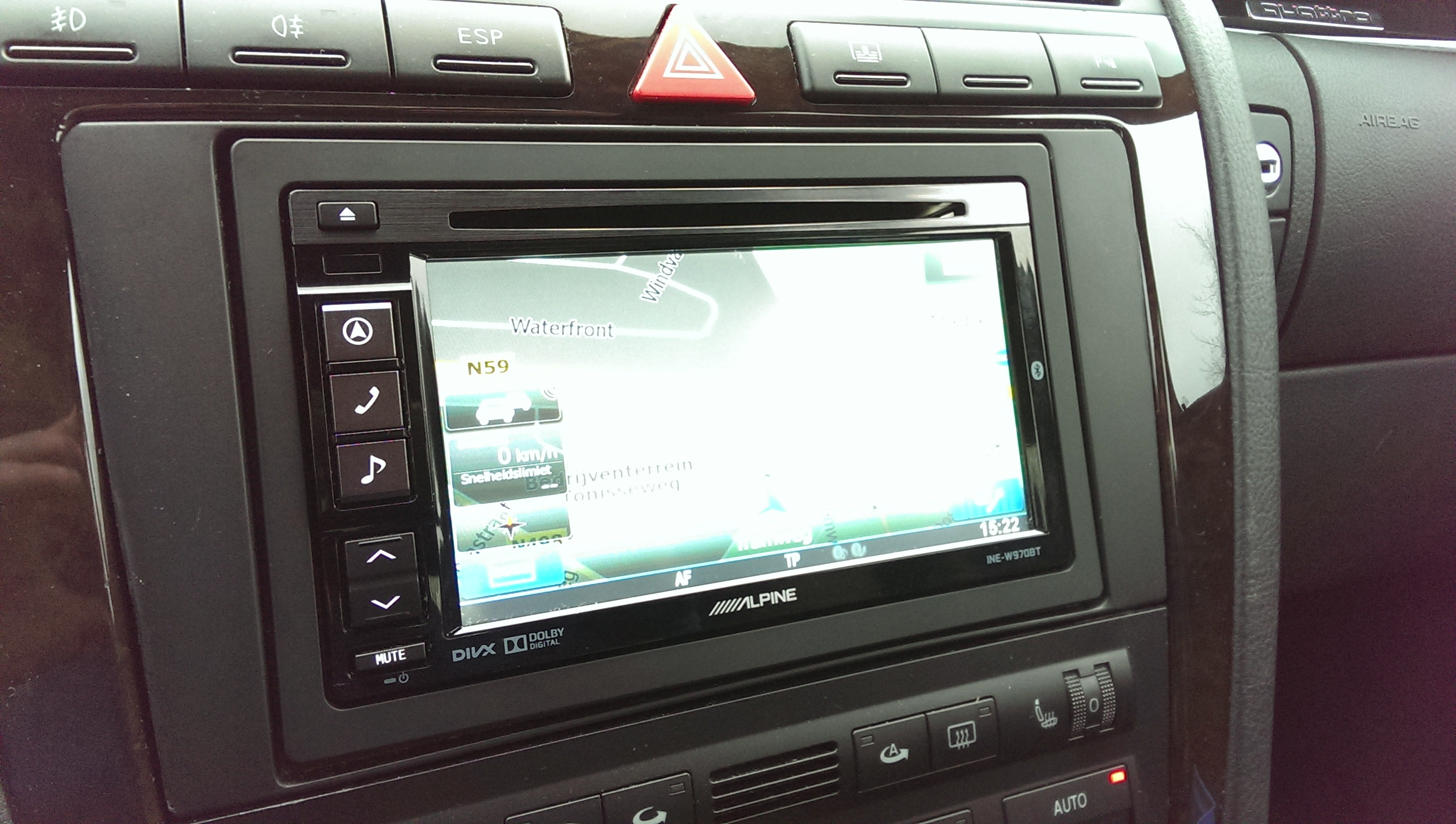 Audi A8 2 Din Ombouw Incl Bose Versterker Vervanging